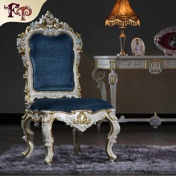 Victorian Style Furniture Rubber Wood Dining Room Chair