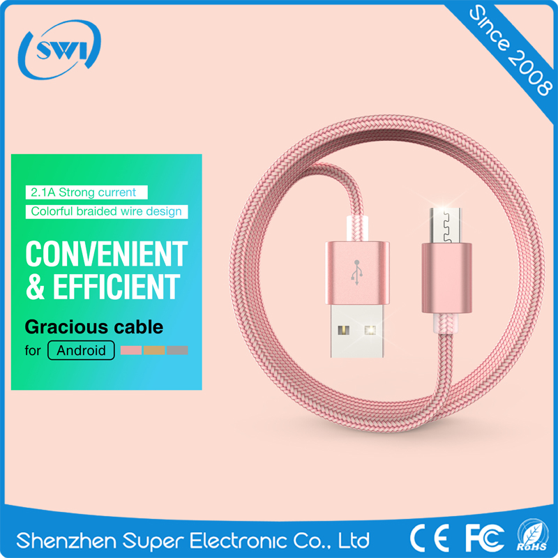 Phones and Accessories Mobile Fast Charging Data USB Cable for Smartphone Usb Lighter Rechargeable Cable