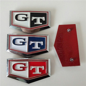 ABS Customized Accessories Car Front Emblem Sticker Nameplate Letter Logo
