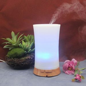 Indoor ultrasonic electric oil diffuser vaporizer 1000ml essential aroma