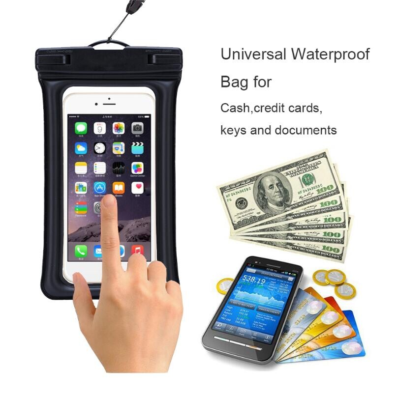 newest dda4d eb90c Fingerprint Touched Id Universal Waterproof Floating Case For Iphone 7/7  Plus - Buy Waterproof Floating Case,Floating Case,Case For Iphone Product  on ...