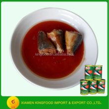 canned seafood product 155g canned mackerel fish for sale
