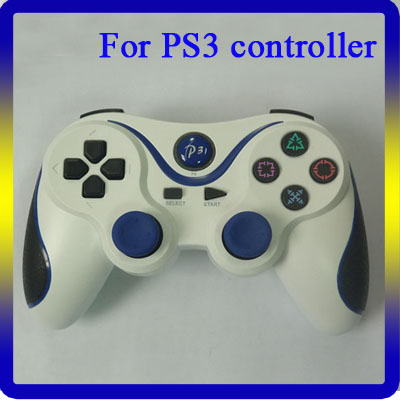 For PS3 Controller Wireless Double Shock Bluetooth Gamepad
