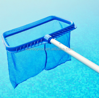 Swimming Pool Skimmer Professional Grade Deep Bag Pool Leaf Rake With 4  Feet Strong Telescopic Pole - Buy Pool Leaf Rake With Pole,Leaf  Skimmer,Deep ...