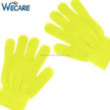 Cheap Multi Color Adults Neon Magic Knitted Outdoor Fashion Winter Gloves For Sale