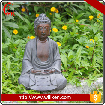 Grey Stone Color Zen Garden Statues Made In China