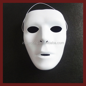 cheap price plastic mask DIY color mask