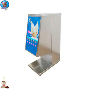 2017 one-off frozen dessert dispenser, automatic frozen yogurt dispenser