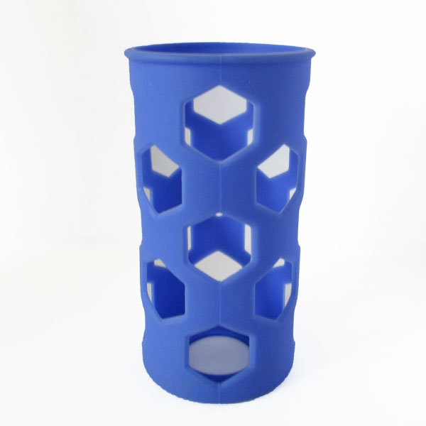 18-32oz Silicone bottle sleeve, protective oem silicone sleeve for flask