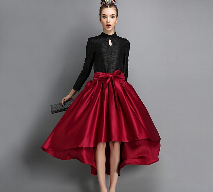 Skirt Alert - Women's %color %size Skirts Brighten up Mondays, flow from desk to dinner, add polish (or drama) to your look in an instant. All it takes is the right skirt.