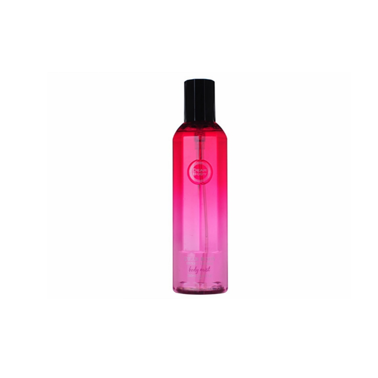 Dear Body nice smell 250ml colorful bottle body mist spray with charming scents for adults