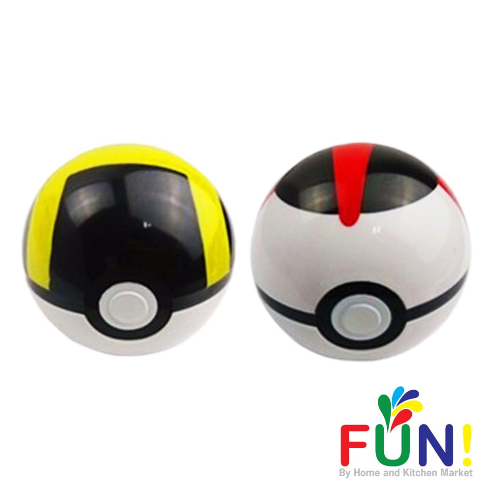 Pokemon Pokeball Toys That Open With Random Figure Inside 2 Pack Combo Black And