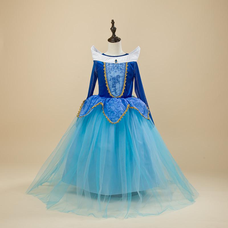 Halloween Girls Princess Fancy Dress Up Costume Outfits: Kids Girls Sleeping Beauty Costumes Carnival Halloween