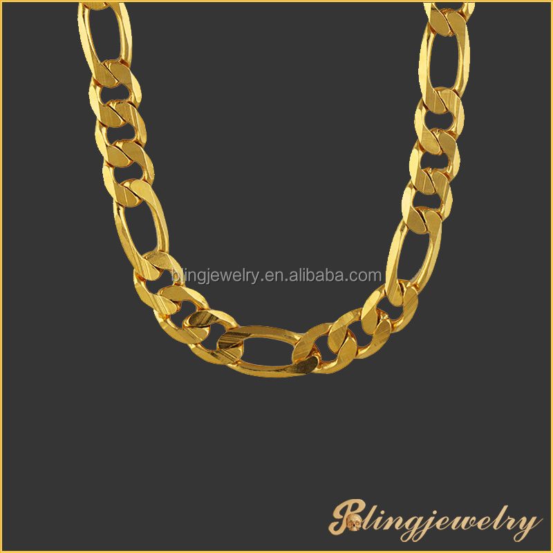 Hip Hop Bling Bling Moon Cut Chain Necklace New Gold Chain Design ...