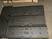 rubber track pads/excavator rubber track shoes