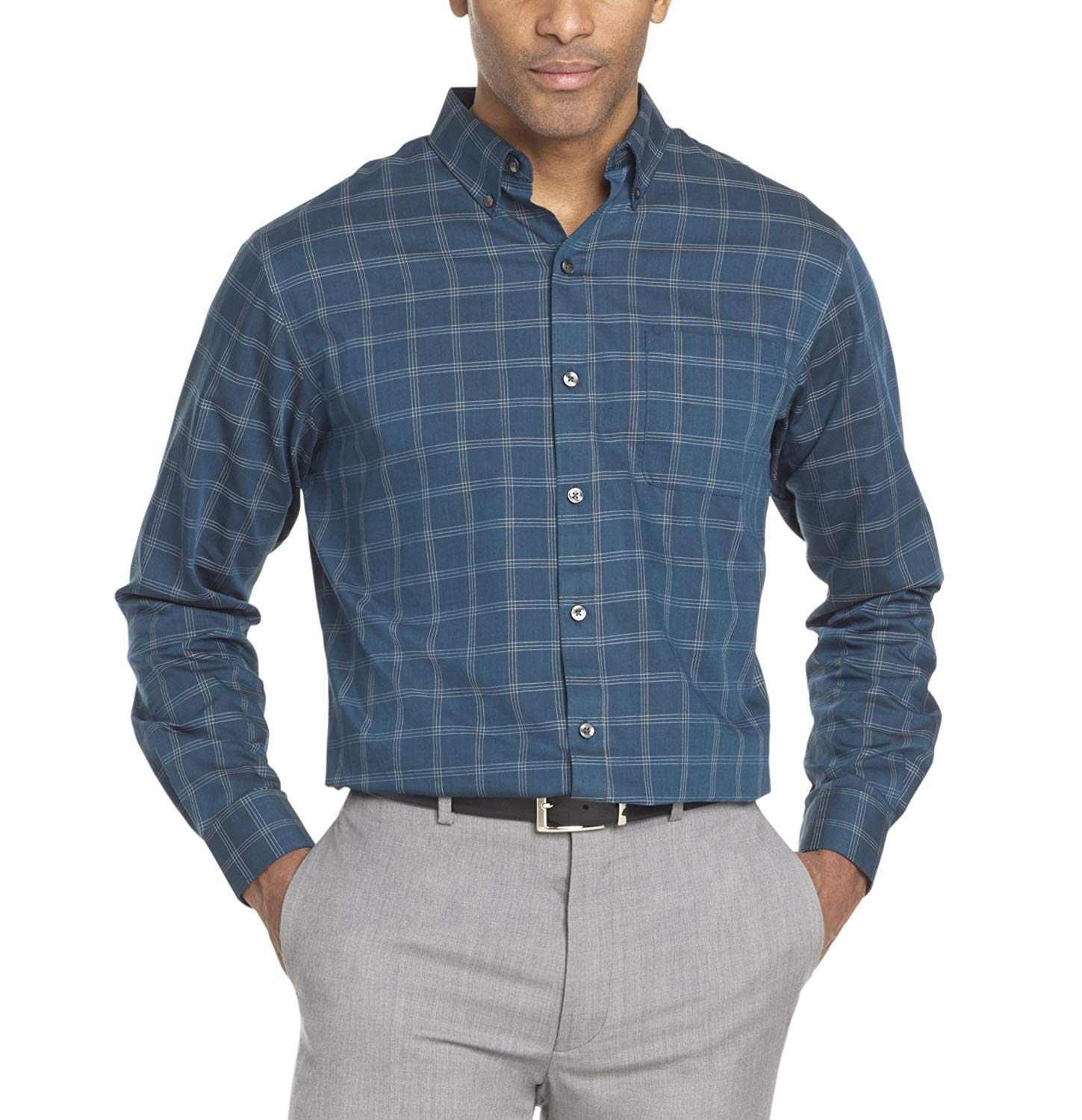 c3e85d0e0ad Van Heusen Wrinkle Free Short Sleeve Shirts – EDGE Engineering and ...
