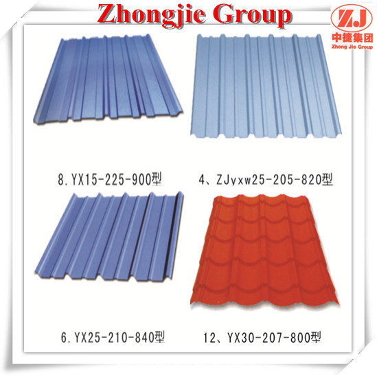 The blue thick cheap flexible metal roofing sheets for Flexible roofing material