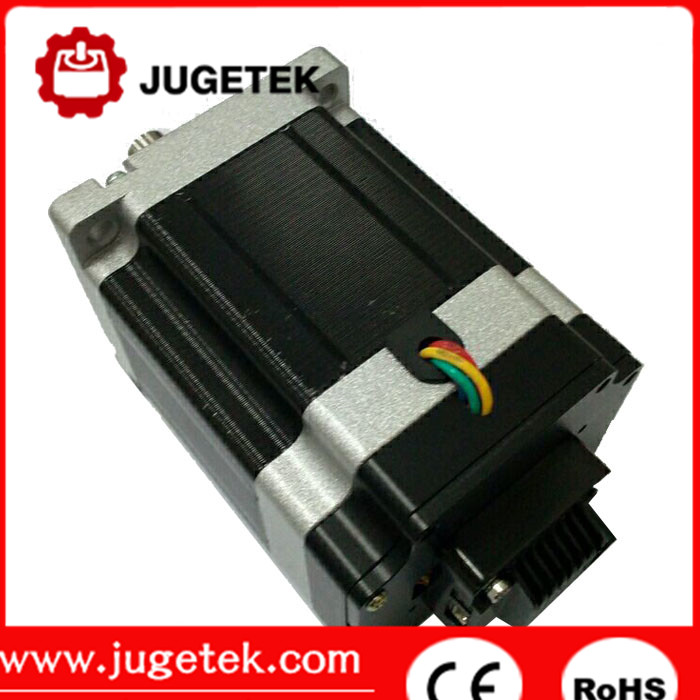 Hybrid easy servo 86mm stepping motor nema 34 closed loop stepper motor with encoder for cnc router