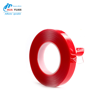 China good quality high strongly adhesive double sided Clear VHB acrylic foam tape
