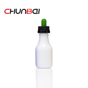 violet blue and red milk bottle shape glass bottles new design wholesale glass bottles made in China