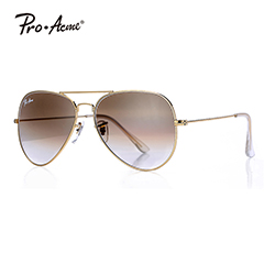 Pro Acme Large Metal Polarized Aviator Sunglasses for mens women PA3026