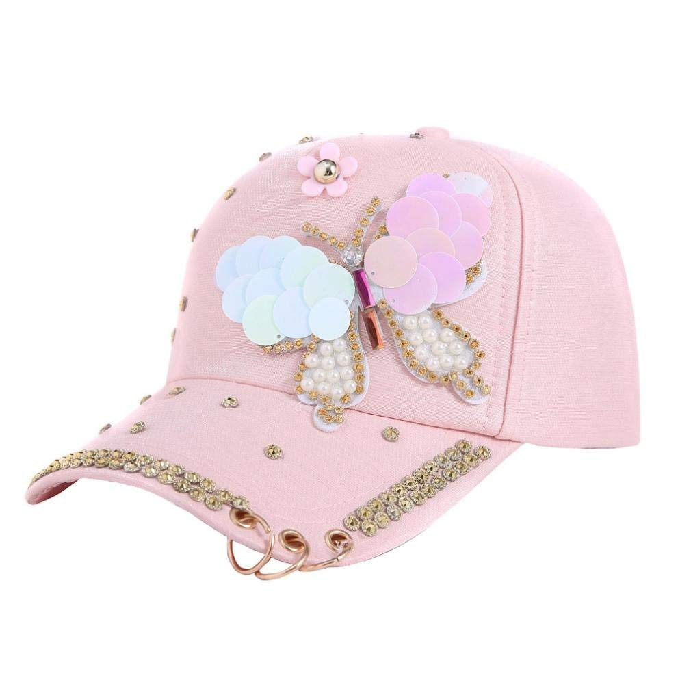 Get Quotations · Mikkar Women s Baseball Cap Hip Hop Hats Adjustable  Performance Curve with Ring 3e88d2f1cb