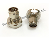 7/16 Plug to N plug male Brass Nickel Body rf connecor adaptor
