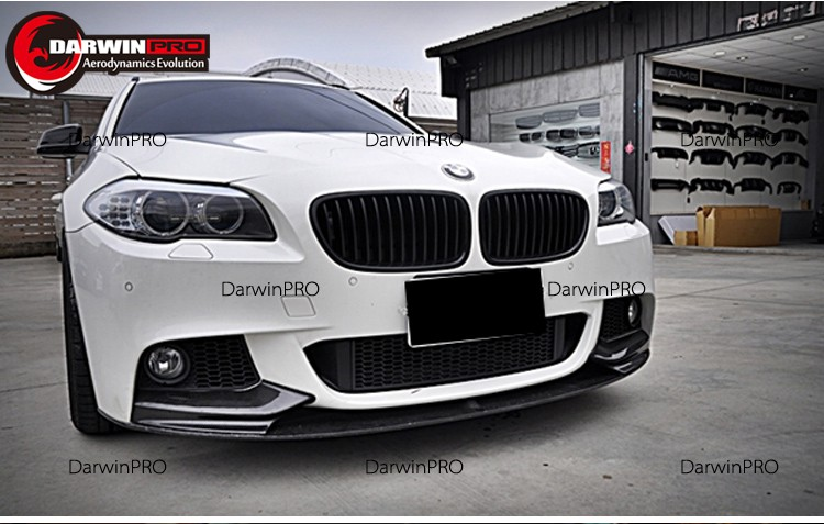 Carbon Fiber Front Lip For Bmw Series F F M Sport I - 13 bmw