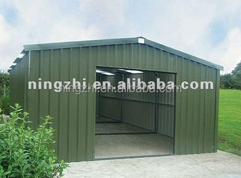 Portable metal garage prefabricated steel structure for Cobertizos prefabricados