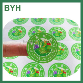 Customized Adhesive Round Shaped Logo Stickers custom adhesive roll vinyl  circle label sticker circle logo sticker