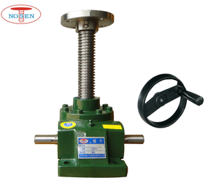 NOSEN custom manual adjustable worm gear screw jack for lifting