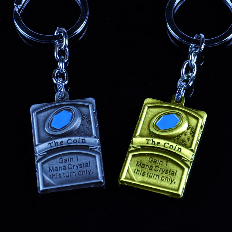 The furnace stone legend of the surrounding <strong>Logo</strong> of the furnace stone keychain wholesale gifts Blizzard game trailer