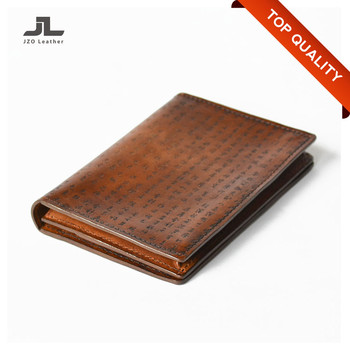 1b619670fe61 Customized Brand Names Genuine Leather Mens Slim Aluminium Wallets ...
