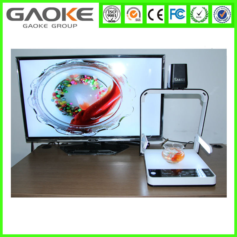 scanner document camera portable visualizer desktop scanner multi-media visualizer for classroom to show the contents or object