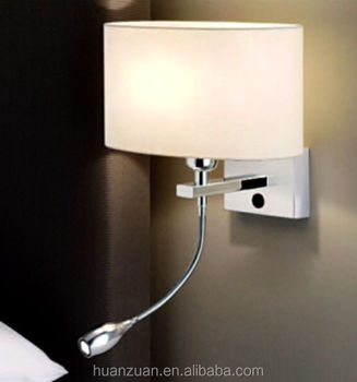 headboard lighting. modern oval fabric headboard led wall light bedside lamp lighting