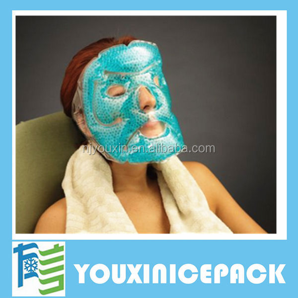 Reusable Cool Ice Bead Ice Pack for Face