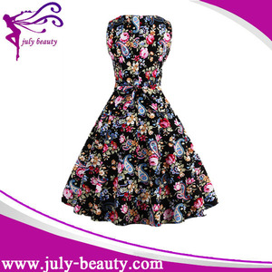 Customize Design High Quality Ladies Fashion Dress Names Of Girls Dresses