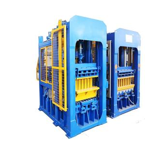 free fire hydraulic press hollow block cement machine fly ash brick manufacturing process