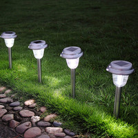 Buy patio torches smudge pots solar led light for pool area decor ...