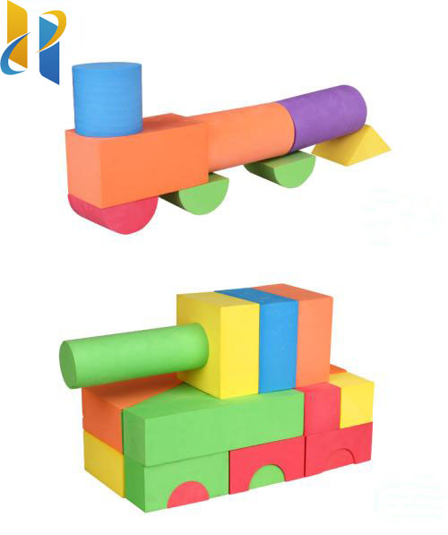 High quality educational kids toys eva foam building blocks