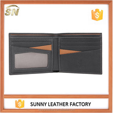 Top Grain Leather wallets , Front Pocket Sized leather wallets