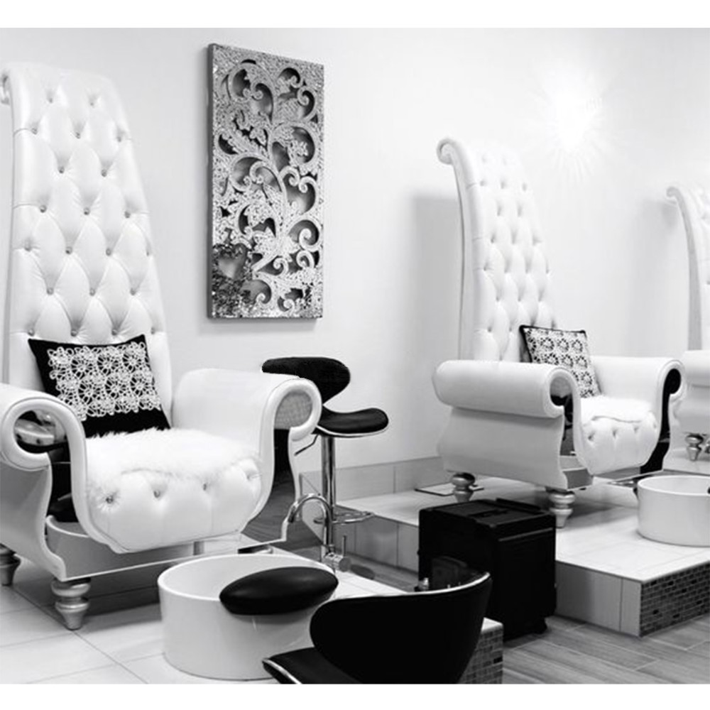 bomacy-arabic funiture hot sale luxury spa pedicure chairs with