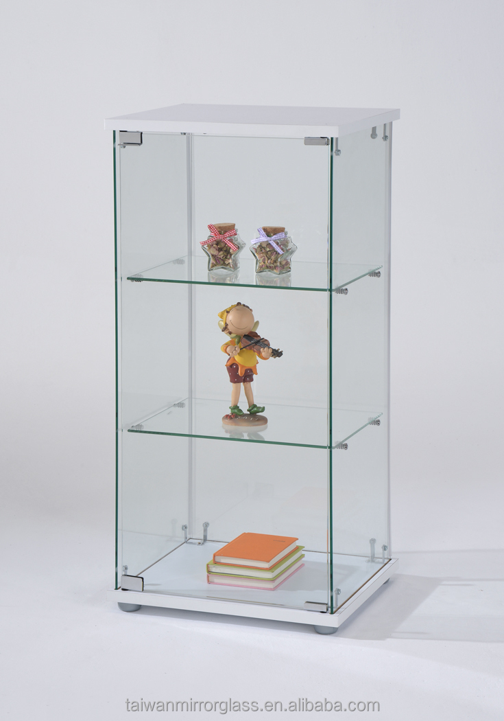 Wonderful High Quality Small Glass Display Showcase With Plywood Cabinet  For Bedroom