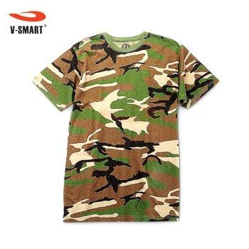 Atx232 Custom Design Camo T Shirts Bulk Wholesale Buy