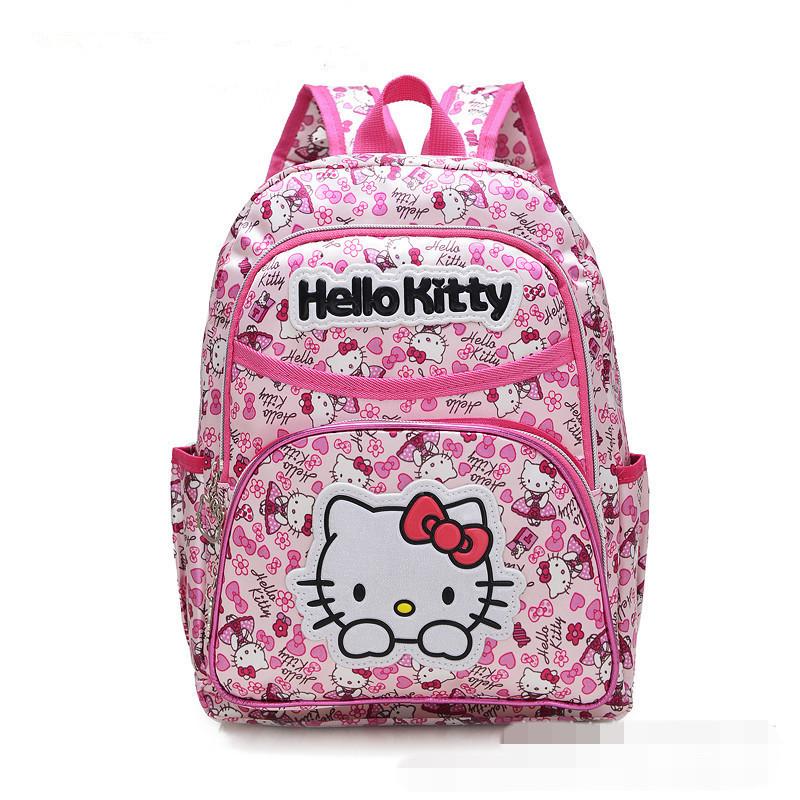 sacs d 39 cole de la maternelle bonjour kitty filles sac dos b b b b sacs mochila infantil. Black Bedroom Furniture Sets. Home Design Ideas