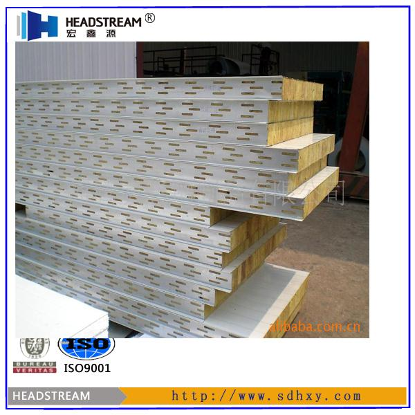 Austranlian standard mineral wool insulated wall panels for Rockwool insulation panels