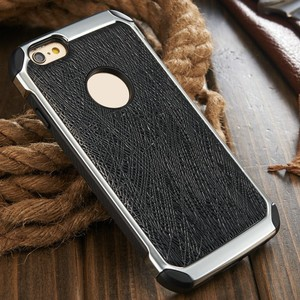 iCase 2016 Cellphone Case for iPhone6 for iPhone 6 plus Hard Case Cover for iPhone 6s Leather+Silicon
