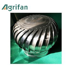 No-power roof top ventilation fan, roof fan for industry or greenhouse, natural ventilation fan