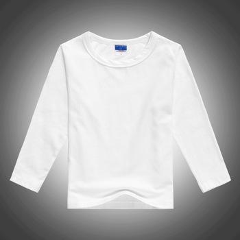 b194e2b583723c Long Sleeves Plain Tshirt Printing Custom T shirt Kids Sublimation Blanks  White Tshirt Modal Polyester Sublimation
