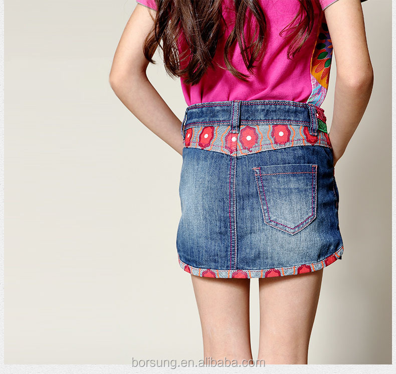 european style fashion wearing mini skirts embroidred